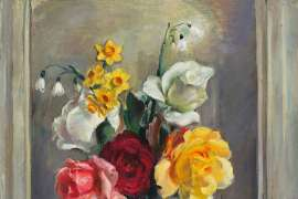 A Few Roses by NORA HEYSEN