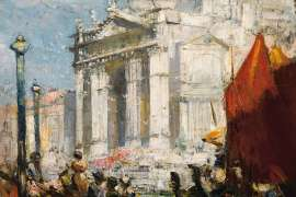 The Festa (The Fête) by ARTHUR STREETON