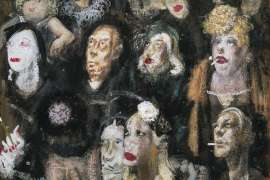 Faces of Kings Cross by WILLIAM DOBELL