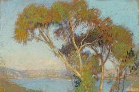 Part of Sydney Harbour by HANS HEYSEN