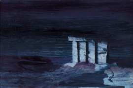 Greek Temple by Moonlight by SIDNEY NOLAN
