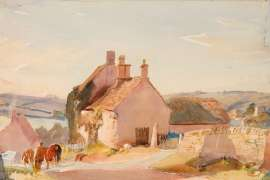 Cotswolds, England by HANS HEYSEN