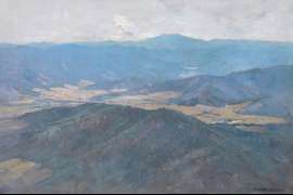 The Ovens Valley (also known as A Victorian Vista) by ARTHUR STREETON