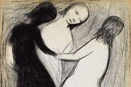 Untitled (Three Girls) by CHARLES BLACKMAN