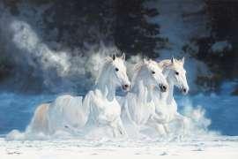 Snow Run No. 2 by LAWRENCE STARKEY