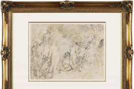 East Meets West by NORMAN LINDSAY