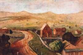 Landscape at Gunning by LLOYD REES