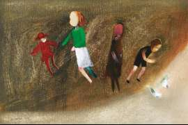 Untitled (Children Playing) by CHARLES BLACKMAN
