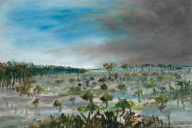 Swamp by SIDNEY NOLAN