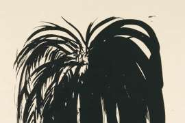 Palm Tree 3 by BRETT WHITELEY