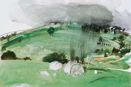 Approaching Storm by BRETT WHITELEY