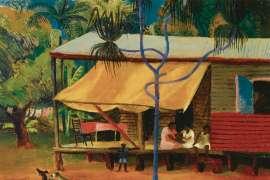 The Black's Hut by DONALD FRIEND
