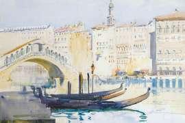Venice Canal by ARTHUR STREETON