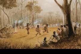 Aboriginal Corroboree by EDWARD ROPER