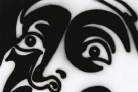 Mask For Baudelaire by HOWARD ARKLEY