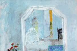 The White Dressing Table by WILLIAM ROBINSON