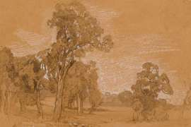 Ambleside Landscape, Mount Barker, South Australia by HANS HEYSEN