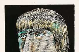 Portrait of a Woman (Barbara Blackman) by CHARLES BLACKMAN