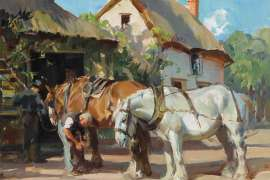 The Blacksmith's Shop by H. SEPTIMUS POWER