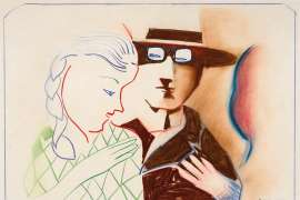 Untitled (Couple) by CHARLES BLACKMAN
