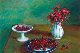 Cherries by MARGARET OLLEY