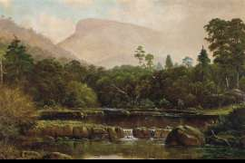 Mount Wellington from Humphrey's Rivulet by HAUGHTON FORREST