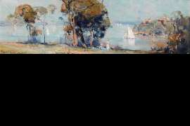 Sunday Morning from Cremorne by ARTHUR STREETON