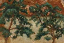 Apple Trees, Saint-Dizier by RUPERT BUNNY