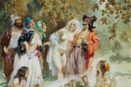 Gypsy Laughter by NORMAN LINDSAY