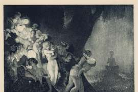 Moonlight's Piper by NORMAN LINDSAY