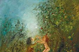 Dance in the Orchard of Heaven by DAVID BOYD
