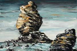 Airey's Inlet Rocks by JAN SENBERGS