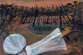 Bride Dreaming by a Pool by ARTHUR BOYD