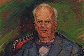 Portrait of Oswald Falk by ROY DE MAISTRE