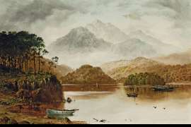 Untitled (Scottish Landscape) by HAUGHTON FORREST