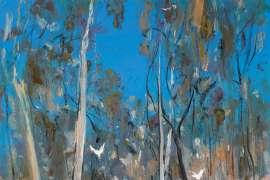 Shoalhaven Bush Landscape by ARTHUR BOYD