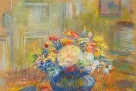 On My Fruit Dish by NORA HEYSEN