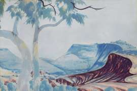 Ghost Gum by ALBERT NAMATJIRA