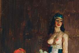 The Sultan's Pleasure by NORMAN LINDSAY