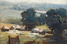 Kent Harvest (also known as Harvest in Kent) by ARTHUR STREETON