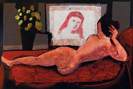 Nude and her Reflection by CHARLES BLACKMAN