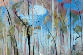 Shoalhaven Bush with Figure by ARTHUR BOYD