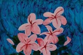 Pink Still Life by CHARLES BLACKMAN