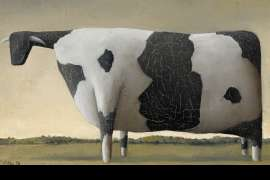Dobell's Cow V by JOHN KELLY
