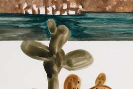 Untitled (Hydra) by SIDNEY NOLAN