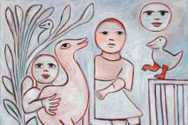 Dancing Bird by MIRKA MORA