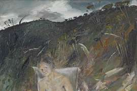 Figure in Landscape by ARTHUR BOYD