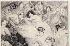 The Song by NORMAN LINDSAY