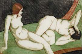 Resting Models by ETHEL SPOWERS