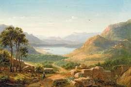 Italienische Landschaft (Italian Landscape) by EUGENE VON GUERARD